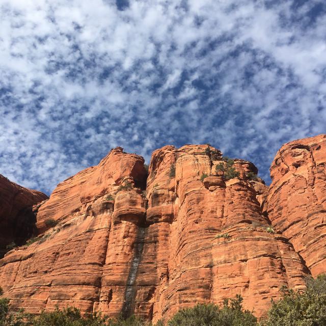 """""""Sedona landscape, Arizona"""" stock image"""
