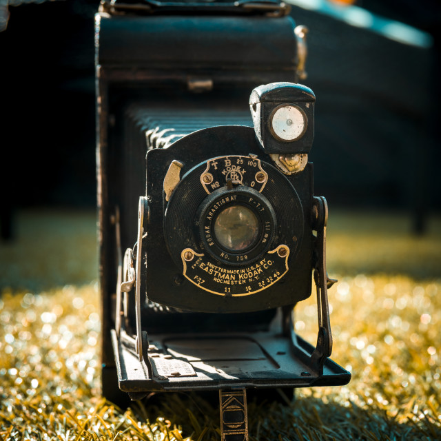 """Kodak Pocket Camera No.1A"" stock image"