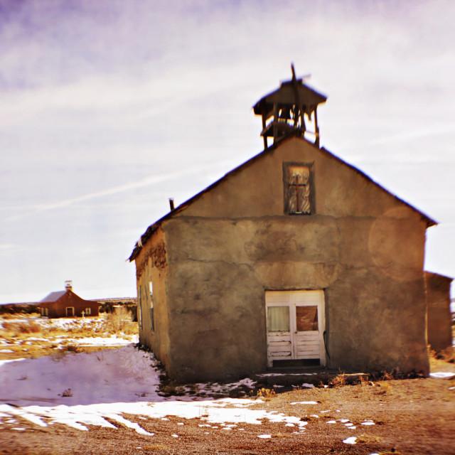 """Santa Rosalia Church"" stock image"