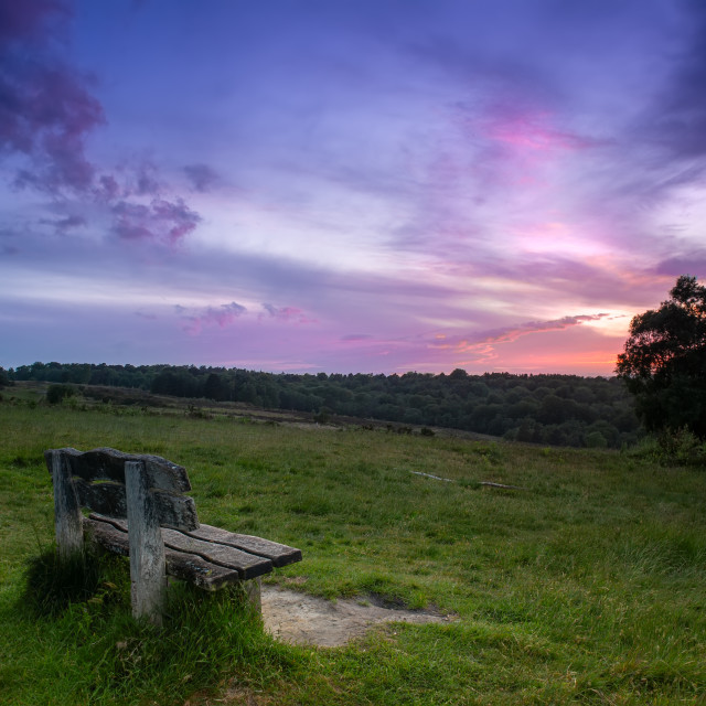 """""""After Sunset"""" stock image"""
