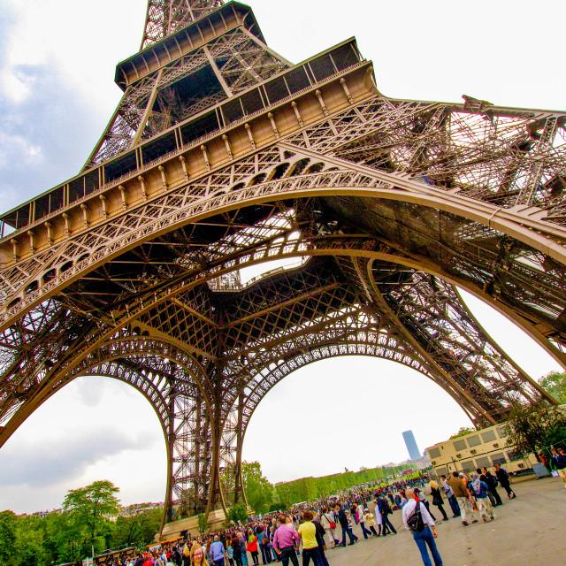 """The Eiffel Tower, Paris."" stock image"