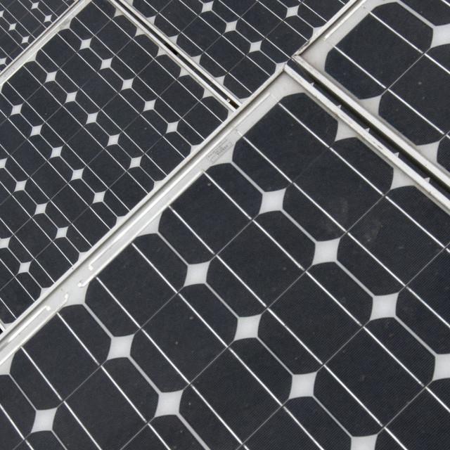 """Solar Panel Pattern"" stock image"