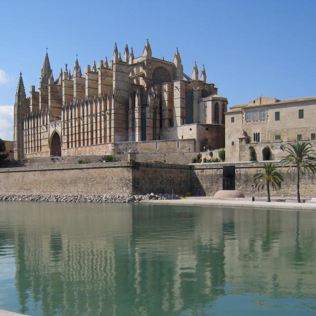 """Palma Cathedral"" stock image"