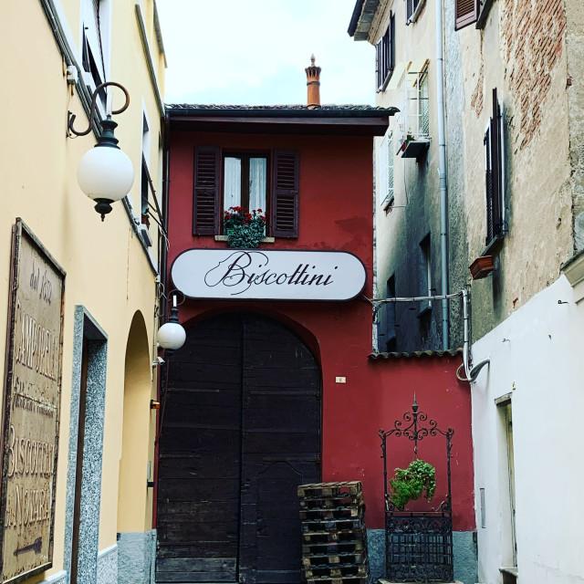 """""""Traditional narrow Italian house"""" stock image"""