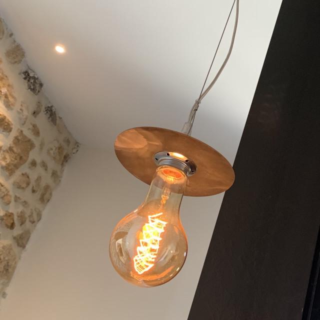 """""""Designer light bulb lighting"""" stock image"""