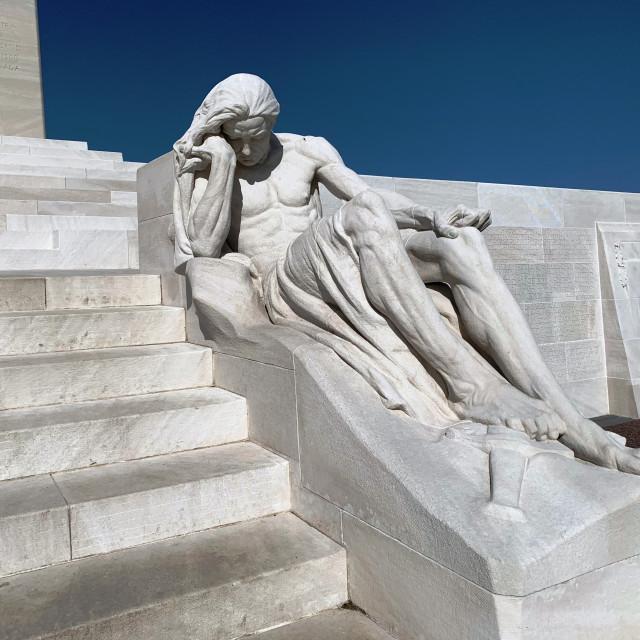 """Canadian National Vimy Memorial"" stock image"