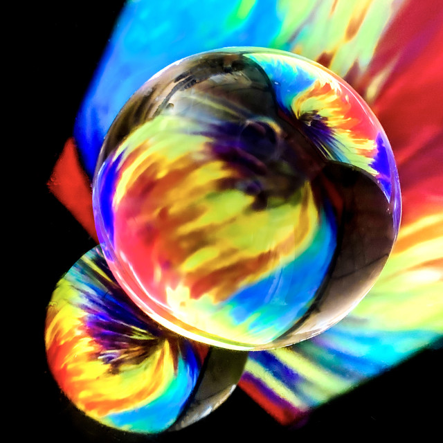"""Refraction Abstract Art 05"" stock image"
