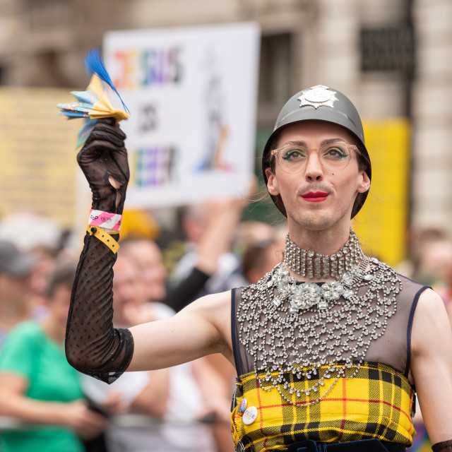 """London Pride 2019"" stock image"