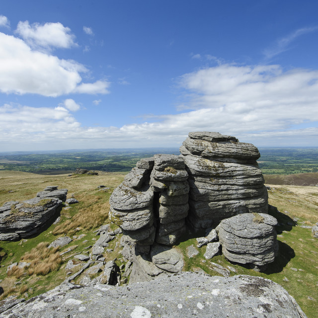 """Great Links Tor, Dartmoor"" stock image"