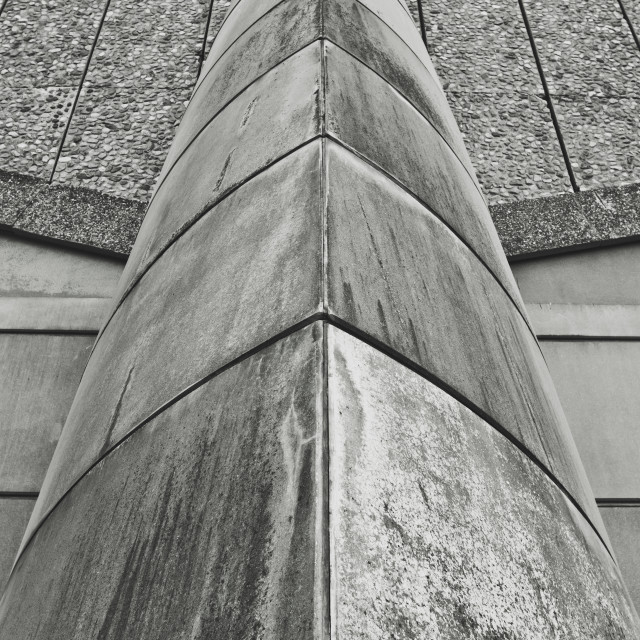 """""""Abstract Brutalist Architecture Detail"""" stock image"""