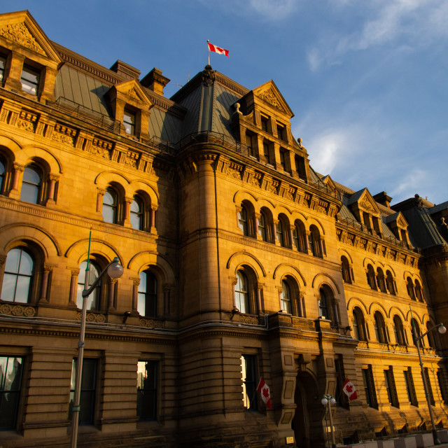 """""""Office of the Prime Minister and Privy Council"""" stock image"""
