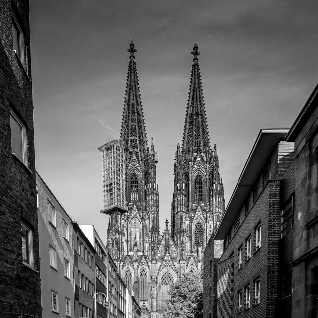 """""""Cologne cathedral 2020"""" stock image"""