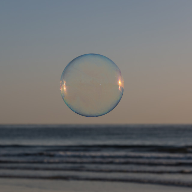 """Bubble and Ocean"" stock image"