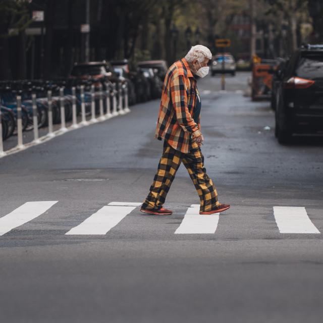 """Coronavirus fashion"" stock image"