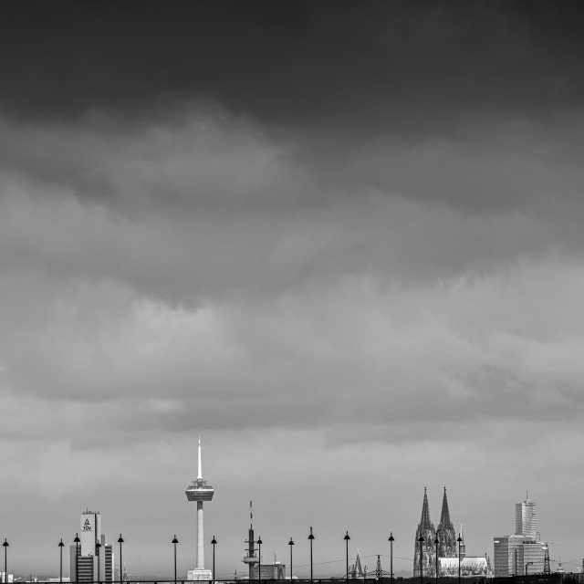 """""""Cologne Skylines"""" stock image"""