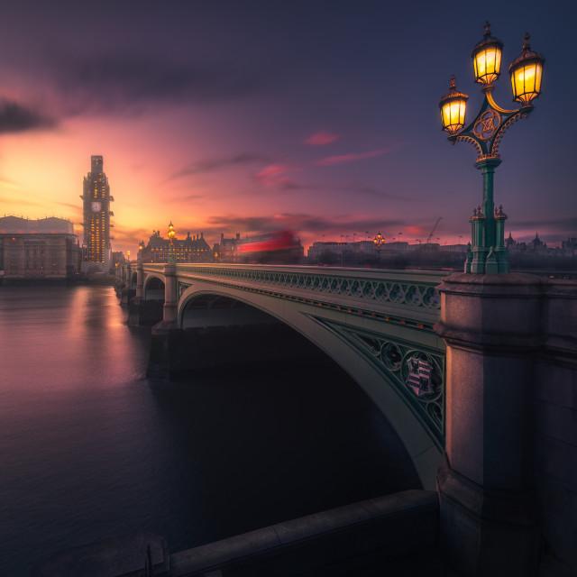 """Mystical London"" stock image"