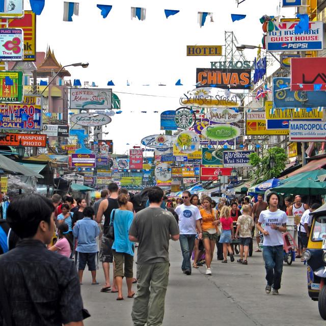 """Khao San road - Bangkok, Thailand"" stock image"