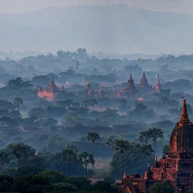 """""""Bagan Temples 05"""" stock image"""