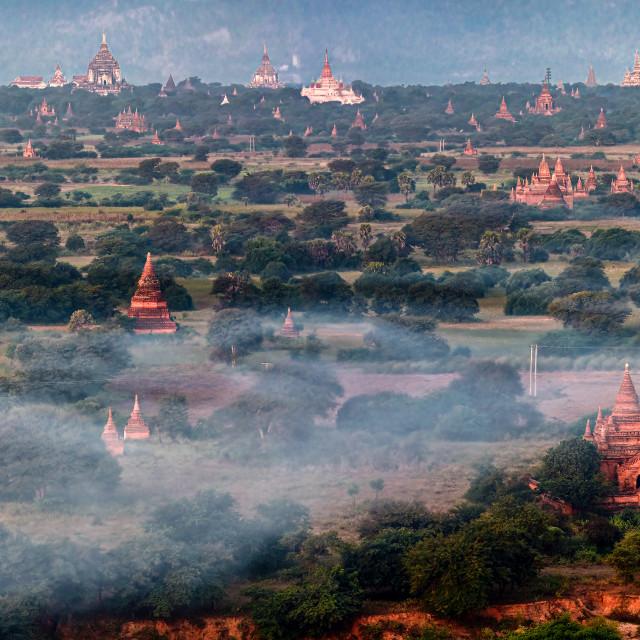 """""""Bagan Temples 04"""" stock image"""