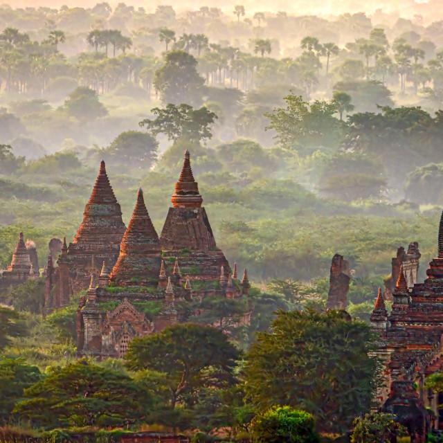 """""""Bagan Temples 06"""" stock image"""