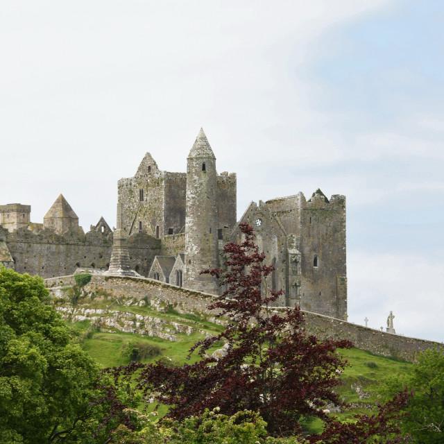 """Rock of Cashel, County Tipperary. Ireland"" stock image"