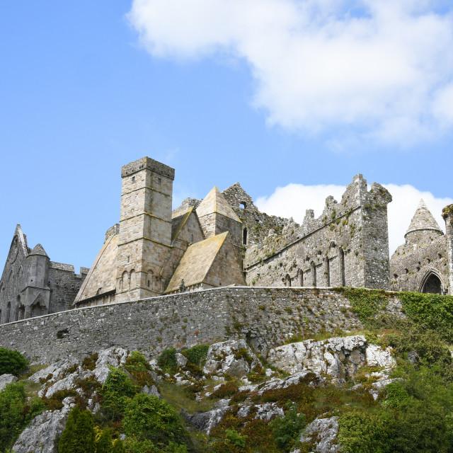 """Rock of Cashel, County Tipperary, Ireland"" stock image"