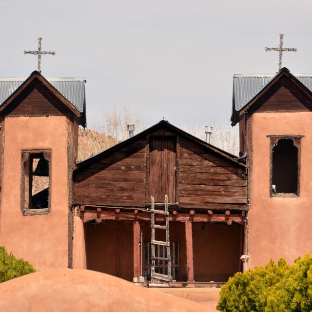 """Santuario de Chimayo"" stock image"