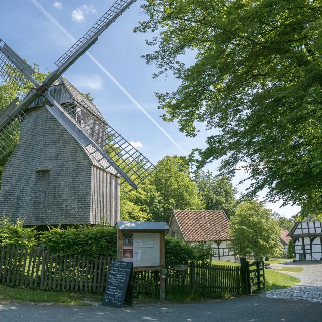 """Bielefeld farmhouse museum"" stock image"