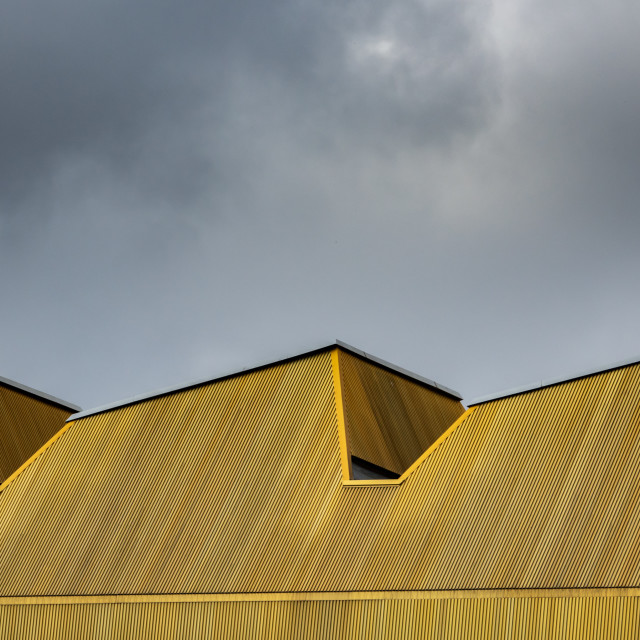 """Abstract Yellow Urban Architecture"" stock image"