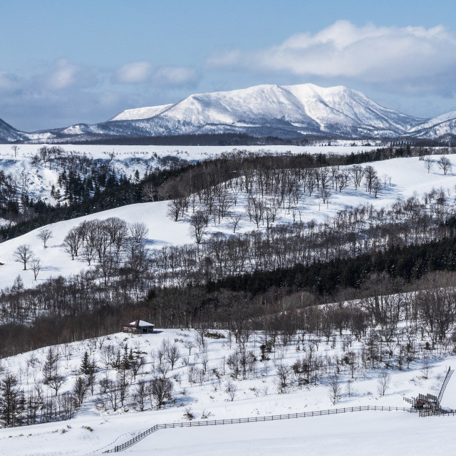 """Mountain Panoramic"" stock image"