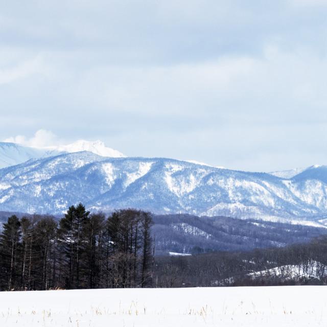 """Huge mountain view"" stock image"
