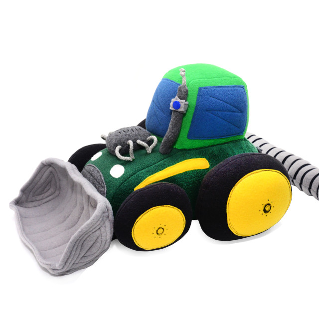 """""""tractor stuffed toy"""" stock image"""
