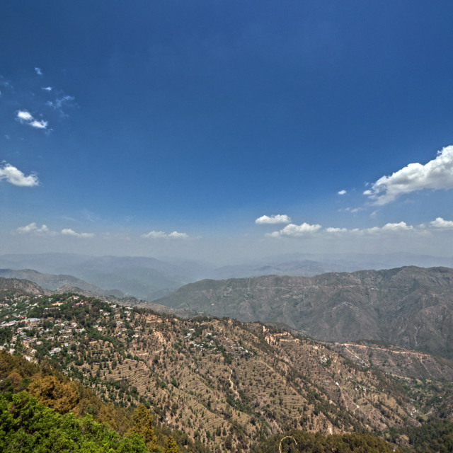 """""""A View from the Tiffin Top ( Tip n Top Point)"""" stock image"""