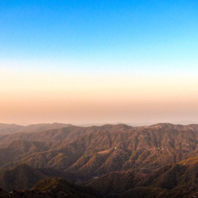"""A Scenic view at Lansdowne, Uttarakhand, India"" stock image"