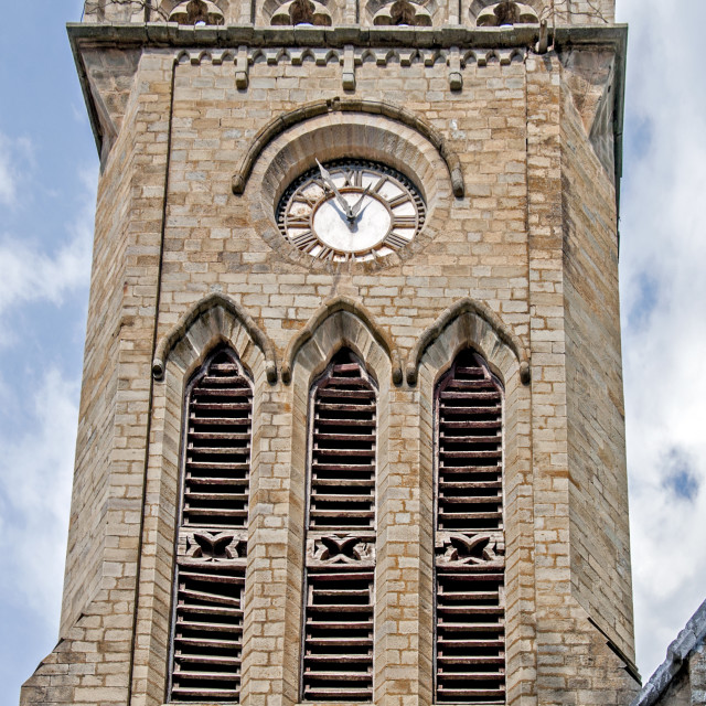 """""""A Clock Tower"""" stock image"""