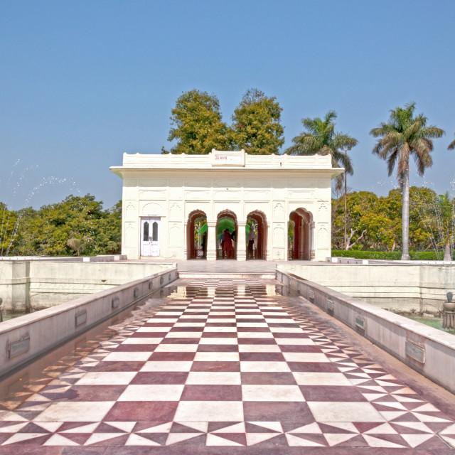 """The Pinjor Gardens or Yadavindra Gardens"" stock image"