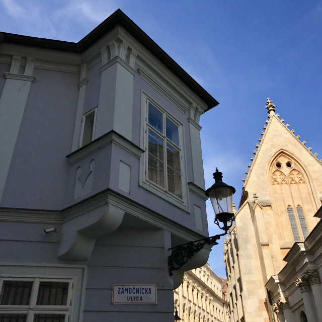 """""""Scenic Bratislava"""" stock image"""