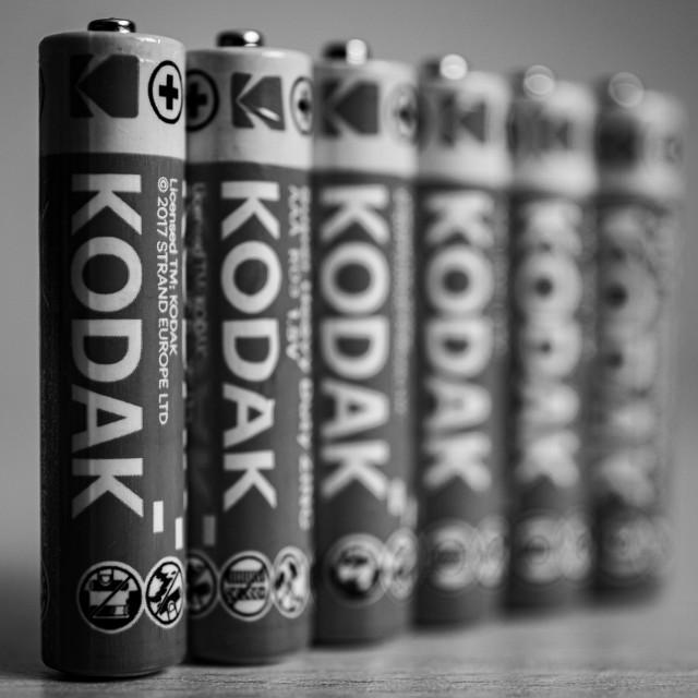 """AAA Batteries"" stock image"