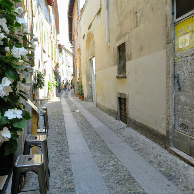 """""""Streets and Lanes of Italy"""" stock image"""