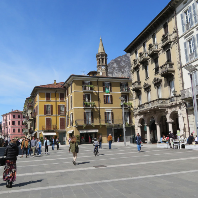 """Streets and Plazas of Italy"" stock image"