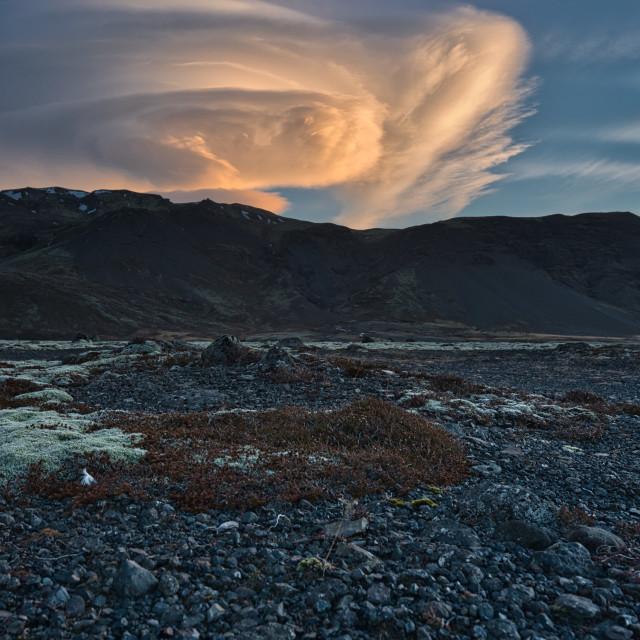"""""""Iceland Sunrise"""" stock image"""