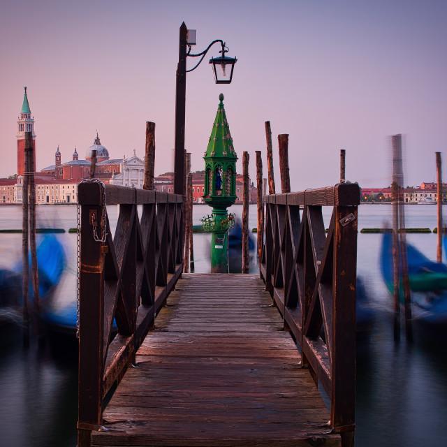 """""""Venice Sunrise"""" stock image"""