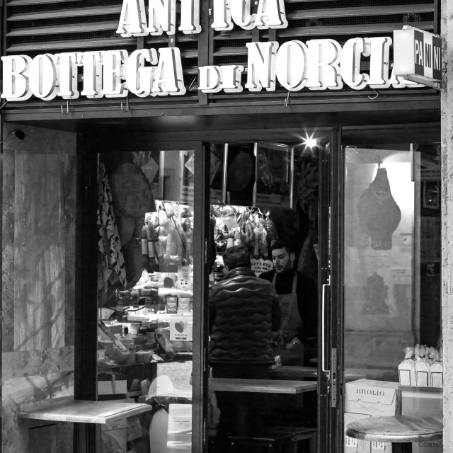 """Antica Botteca Di Norcia 1"" stock image"
