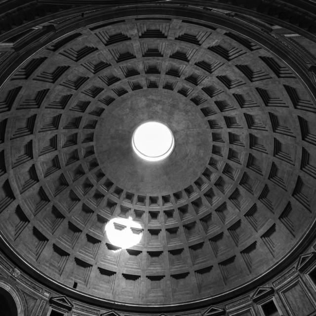 """Pantheon Dome 1"" stock image"