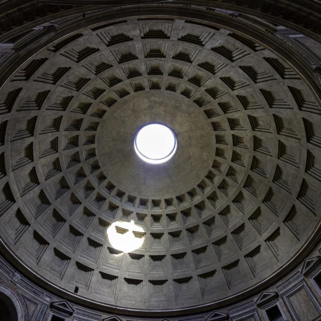 """Pantheon Dome 2"" stock image"