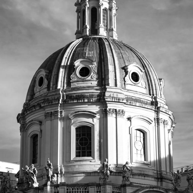 """""""Chiesa del Santissimo Nome di Maria al Foro Traiano 3"""" stock image"""