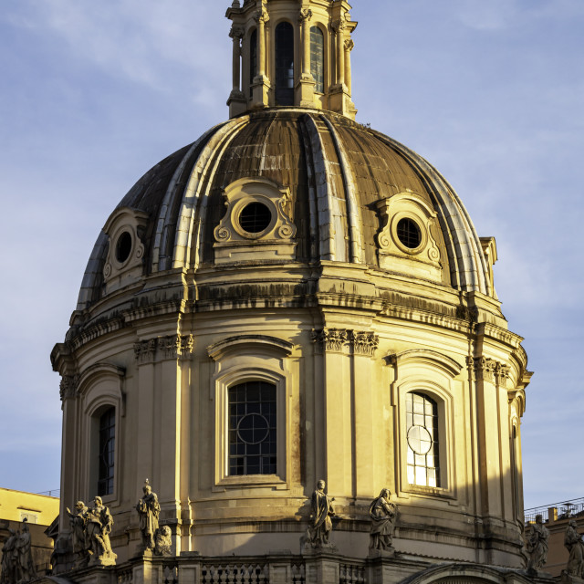 """""""Chiesa del Santissimo Nome di Maria al Foro Traiano 4"""" stock image"""