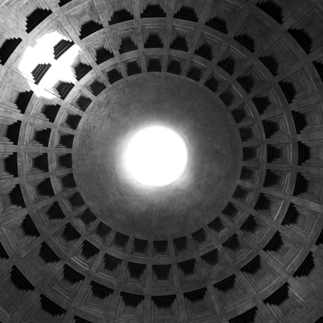 """Pantheon Dome 3"" stock image"