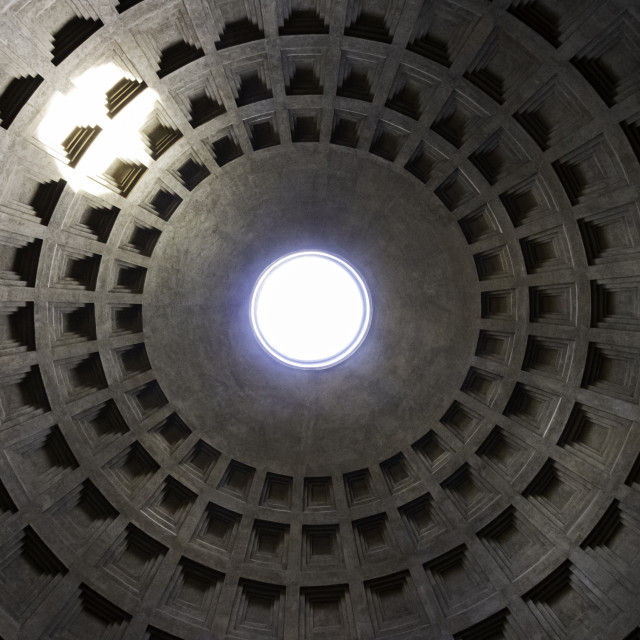 """Pantheon Dome 4"" stock image"