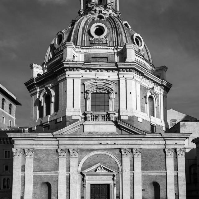 """Chiesa di Santa Maria di Loreto 1"" stock image"